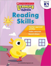 Reading Skills (Scholastic Learning Express: K1) - Dear Books Online Children's Book Store