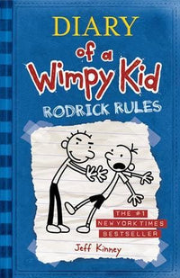 Rodrick Rules (Diary of a Wimpy Kid #2) - Dear Books Online Children's Book Store