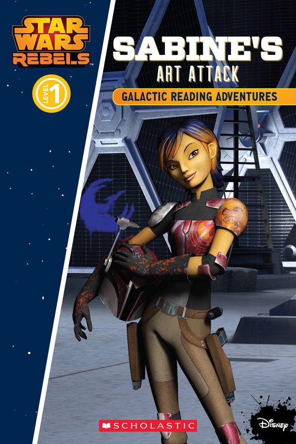 Sabine's Art Attack (Star Wars Rebels) - Dear Books Online Children's Book Store Philippines