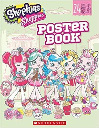 Shopkins Shoppies: Pullout Poster - Dear Books Online Children's Book Store