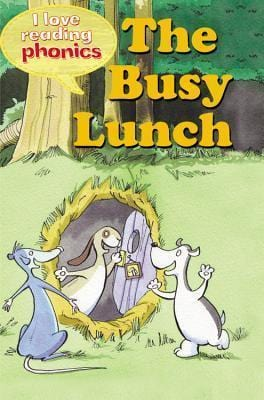 The Busy Lunch (I Love Reading Phonics: Level 2H) - Dear Books Online Children's Book Store