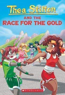 The Race for the Gold (Thea Stilton #31) - Dear Books Online Children's Book Store Philippines
