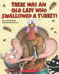 There Was an Old Lady Who Swallowed a Turkey! - Dear Books Online Children's Book Store