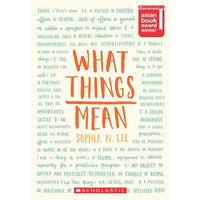 What Things Mean - Dear Books