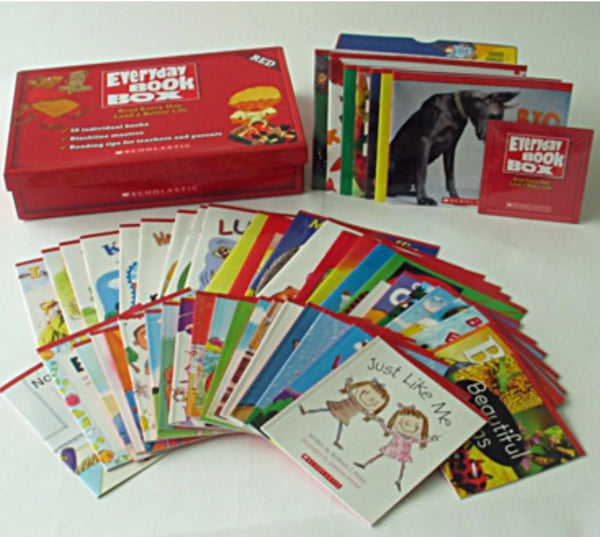 Everyday Book Box Red (Kindergarten) - Dear Books Online Children's Book Store Philippines