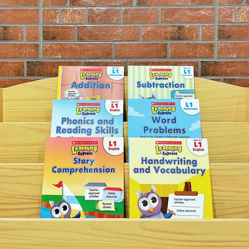 Scholastic Learning Express: Level 1 Bundle