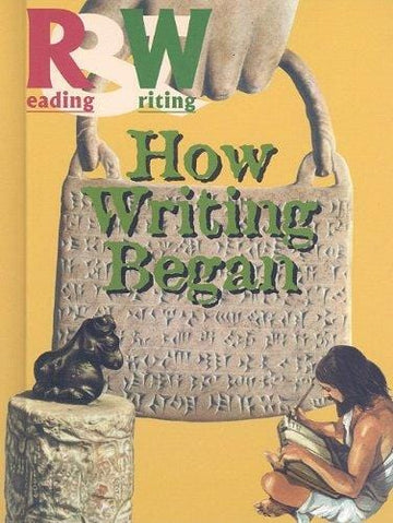 How Writing Began (Reading and Writing) Library Binding