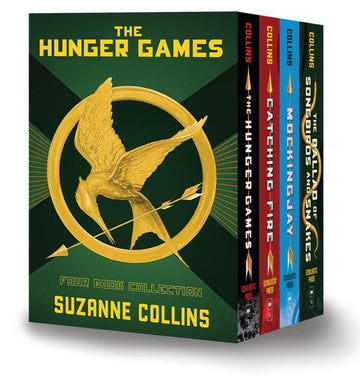 Hunger Games 4-Book Paperback Format Boxed Set (The Hunger Games, Catching Fire, Mockingjay, The Ballad of Songbirds and Snakes)