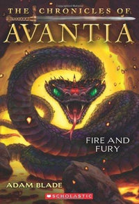 The Chronicles of Avantia #4: Fire and Fury - Dear Books Online Children's Book Store Philippines