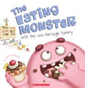 The Eating Monster - Dear Books Online Children's Book Store Philippines