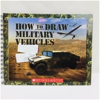 How To Draw Military Vehicles - Dear Books Online Children's Book Store Philippines