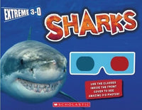 Extreme 3-D Sharks - Dear Books Online Children's Book Store Philippines