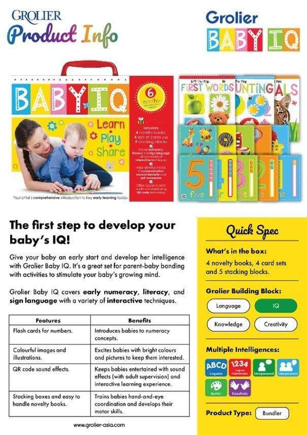 Baby IQ - Dear Books Online Children's Book Store Philippines