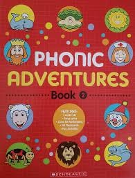 Phonics Adventure Book 2 with Audio CD - Dear Books Online Children's Book Store Philippines