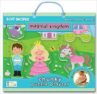 Soft Shapes Chunky Puzzle Playset: magical kingdom (Foam Puzzle and Playset) - Dear Books