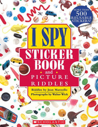 I Spy Sticker Book and Picture Riddles - Dear Books Online Children's Book Store