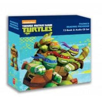Teenage Mutant Ninja Turtles (12-Book and Audio CD Set) - Dear Books Online Children's Book Store