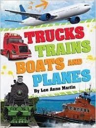 Trucks, Trains, Boats and Planes - Dear Books Online Children's Book Store Philippines