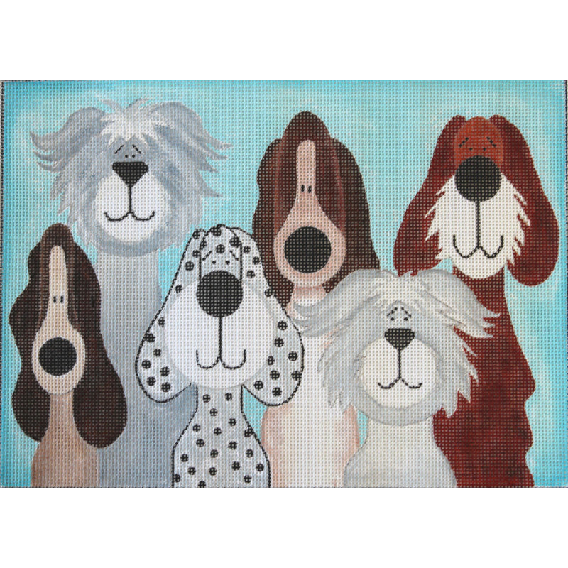 Six Whimsical Dogs