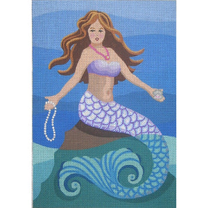 Maxine:  Mermaid With Pearls