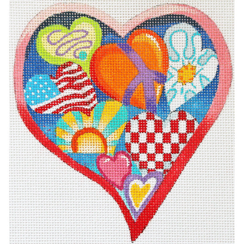 Hearts Collage