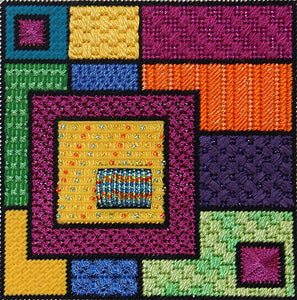 Geometric Squares  - Squares Within Squares