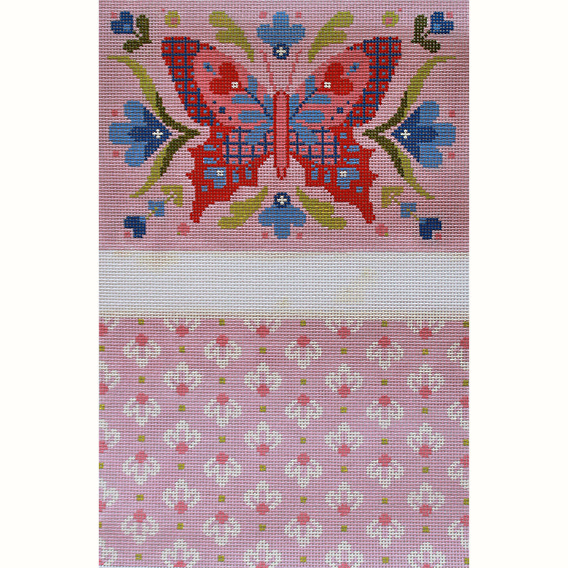 Annette - Pink Butterfly Clutch by Abigail Cecile