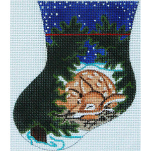 Sleeping Fawn Mini Stocking