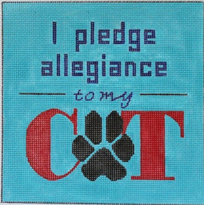 I Pledge Allegiance To My Cat