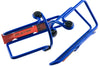 One Pair of Avenir Classic Slider Aluminum Bicycle Water Bottle Cage Blue NEW