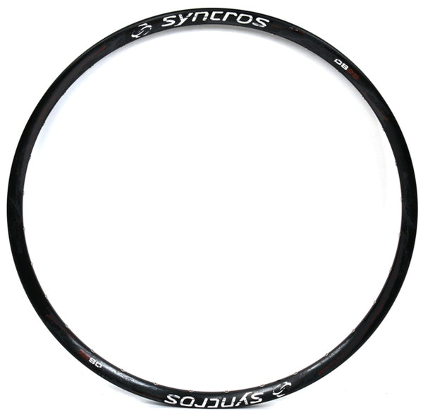 "SYNCROS DS25 26"" Black Mtb Rim 32 Hole All Mountain Bike Aluminum XC 19mm NEW"