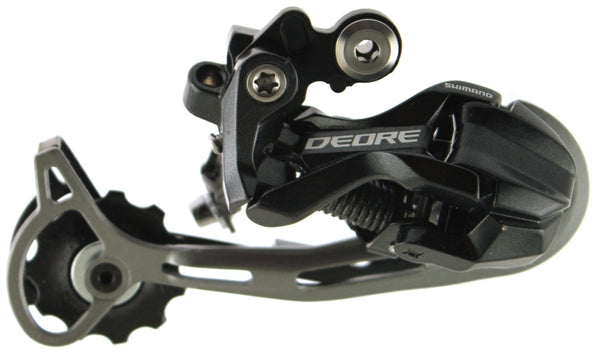 SHIMANO DEORE SHADOW RD-M592 9 Speed Rear Derailleur Mtb Long Alloy NEW