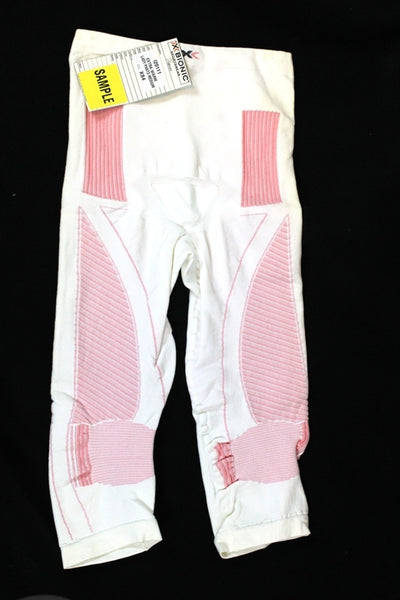X-BIONIC ENERGY ACCUMULATOR Women's X- Warm Pants Med Length L/XL Pink $250 NEW