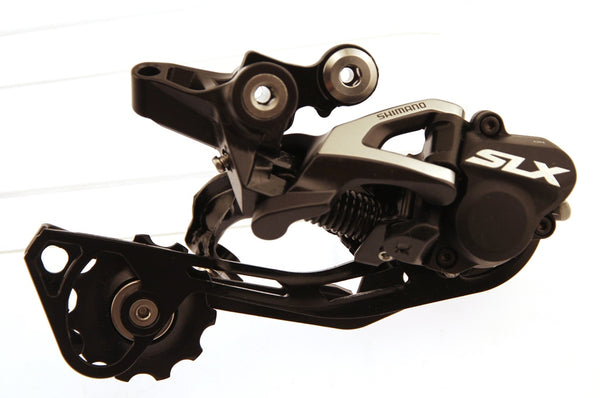 SHIMANO SLX  SHADOW MTB Bike Rear Derailleur RD-M675 10s Dyna-Sys 95mm Cage NEW