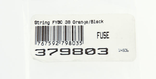 "HOYT FUSE Custom Bow String Yoke FYBC 38"" Orange/Black NEW"