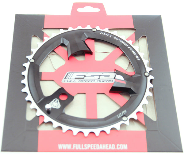 FSA 40T Super MTB 386 Chainring 9 Speed 86 BCD 3 Bolt Alloy MTB Bike NIB