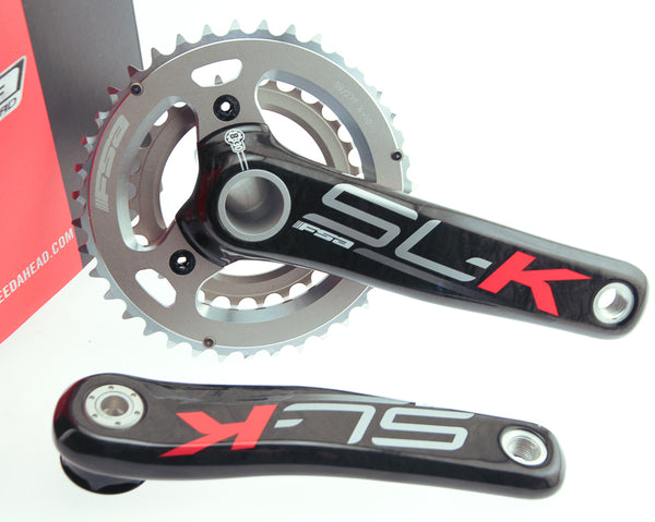 2013 FSA SL-K Carbon Fiber MTB Crankset 39/27t 175mm + BB30 X10 SLK Bike NEW