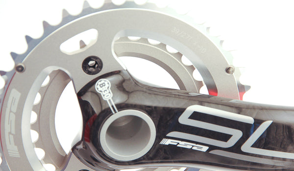 FSA SL-K Carbon Fiber MTB Bike Crankset 39/27t 170mm + BB30 X-10 SLK NEW