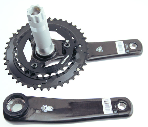 FSA K-Force Light Carbon Crankset M10 42/30t 170mm +BB30 Ceramic BB MTB Bike NIB