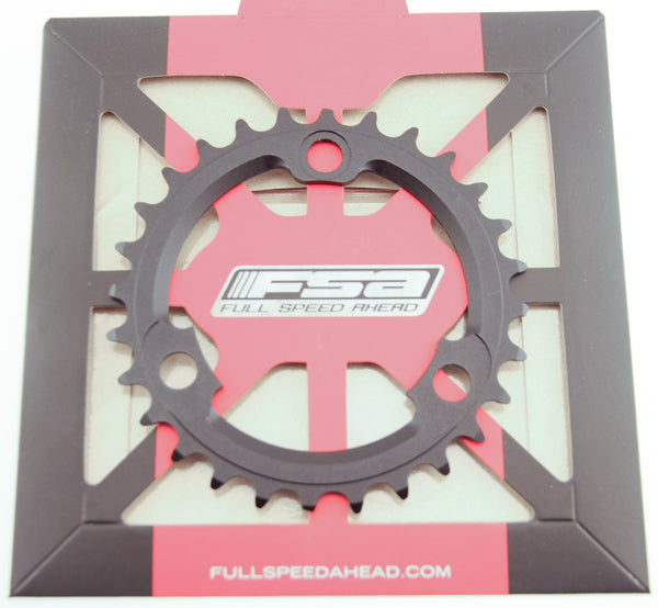 FSA 28T Pro MTB 386 Chainring X-10 Speed 86 BCD 3 Bolt Black Bike New NIB