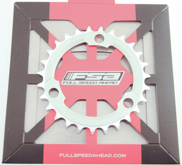 FSA 27T SL-K ATB 386 Chainring X-10 Speed 86 BCD 3 Bolt Gray Bike New NIB