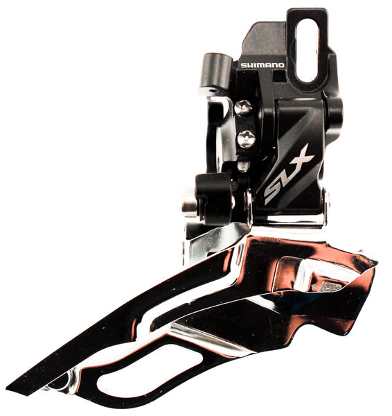 SHIMANO SLX FD-M671 Front Derailleur Direct Mount Dynasys Dual Pull NEW