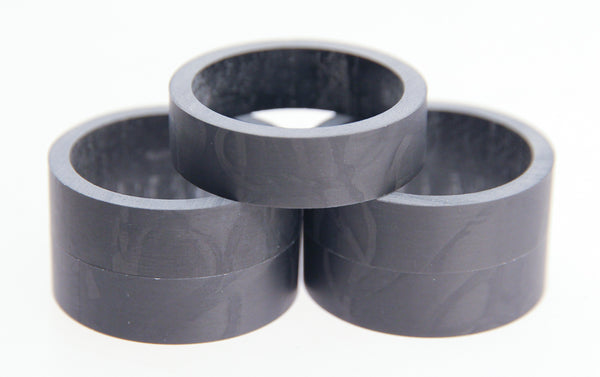 "FSA 5qty 10mm 1-1/8"" UD Carbon Headset Spacers 50mm Total Road / MTB Bike NEW"