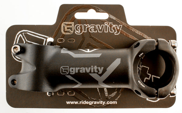 "FSA GRAVITY GRADIENT STEM 90mm 31.8 1 1/8""  +/-6¡ Threadless MTB Bike ALLOY NEW"