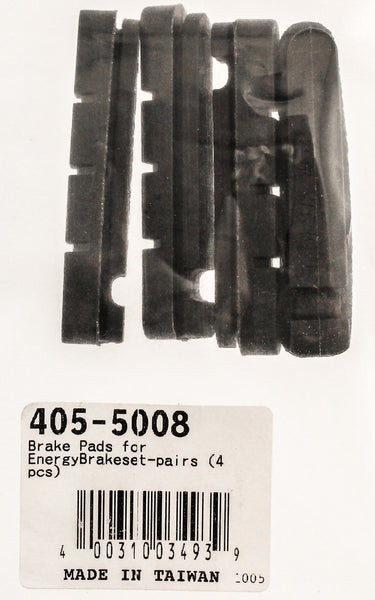 FSA 405-5008 Carbon Compound Brake Pads for Alloy Rims Set of 4 Replacement NEW