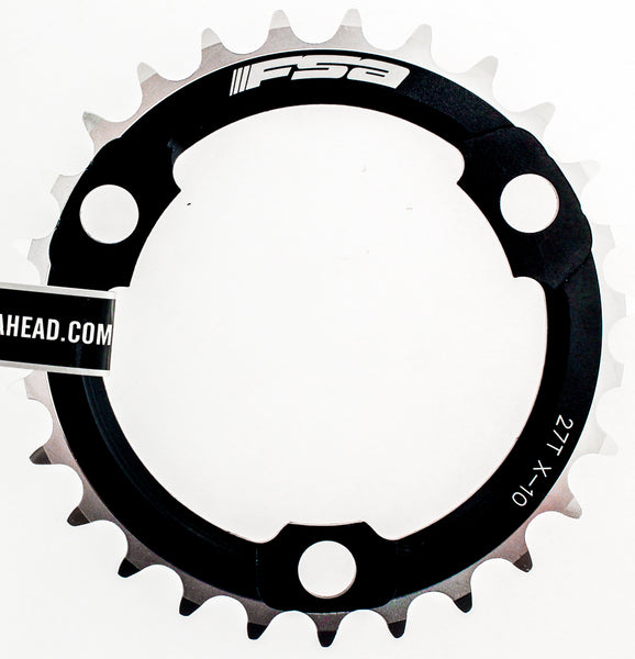 FSA 386 PRO MTB Chainring X10 Speed 27t 86 BCD 3 Bolt Black Alloy Bike New NIB