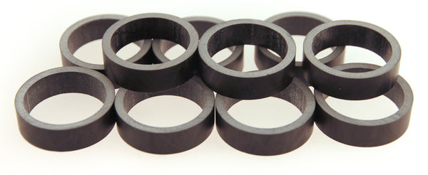 "FSA 10qty 10mm 1-1/8"" UD Carbon Headset Spacers 100mm Total Road / MTB Bike NEW"
