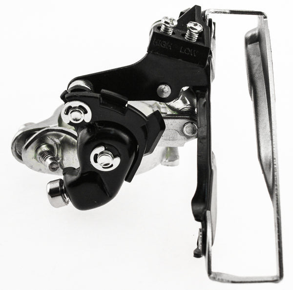 SHIMANO TOURNEY FD-TX51 34.9mm Front Derailleur Dual Pull Low Clamp Steel NEW