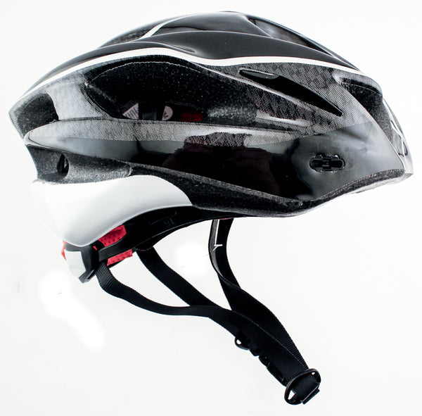 RALEIGH DISCOVERY Carbon Road Bike MTB Helmet Sm/Med 56/58cm Black CPSC NEW