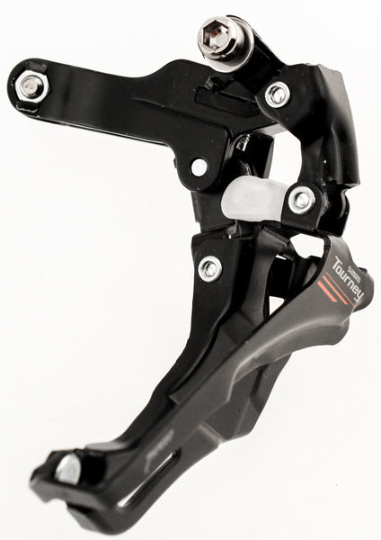 SHIMANO TOURNEY FD-A073 34.9mm Front Derailleur Bottom Pull 7 Sp Clamp Black NEW